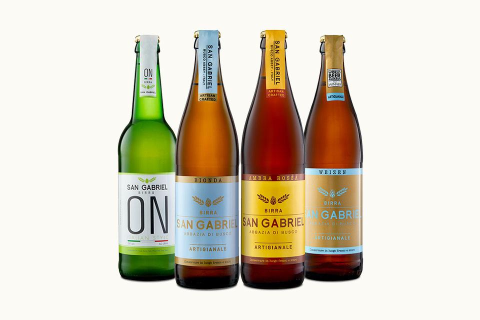 Le 4 Birre classiche San Gabriel