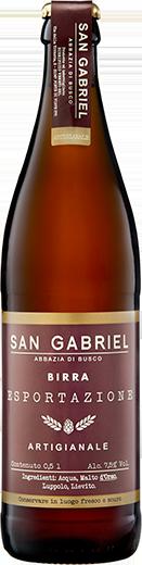 Birre Speciali San Gabriel - Esportazione