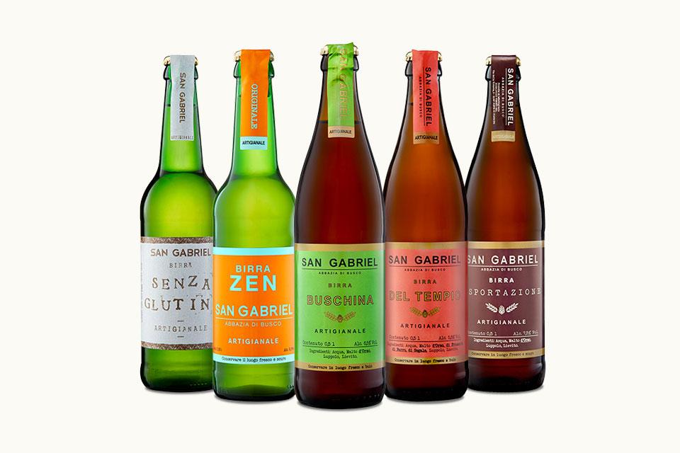 Le 5 Birre speciali San Gabriel